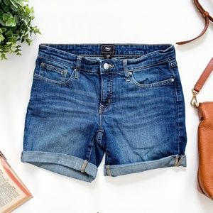 Gap Denim Rolled Shorts